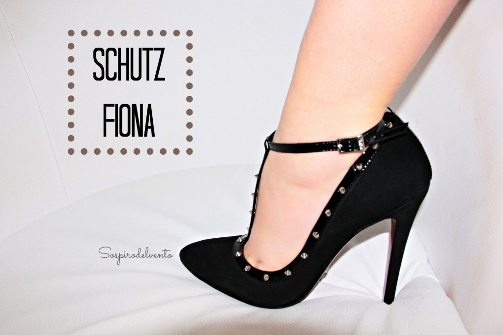 My Schutz Fiona Studded pumps.
